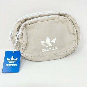Adidas Originals Sport Fanny Pack Beige Logo Bag